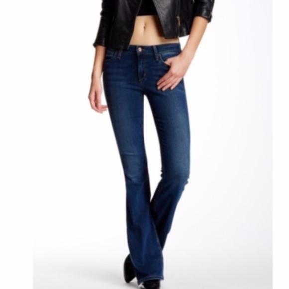Joe's Jeans Denim - joe's jeans   mid-rise flare denim jeans sz 26